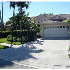 Rental info for LOVELY WEST MIRAMAR HOME in the Miramar area