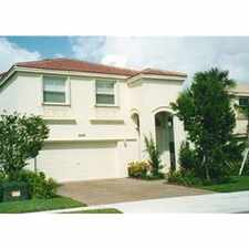 Rental info for Luxury Mediterranean Estate Home w/ Lakeview in the Miramar area
