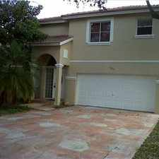 Rental info for BEAUTIFUL GARDEN LAKE HOME W/ LAKEVIEW in the Pembroke Pines area