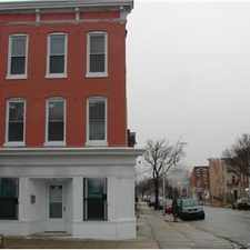 Rental info for 1237 Hollins Street in the Baltimore area