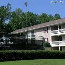 Rental info for Brandywine at LaFayette