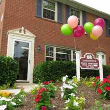 Rental info for Jamestowne Townhomes in the Ten Hills area