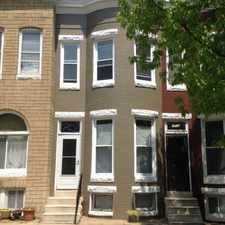 Rental info for Recently renovated with central air, new carpeting, and hardwood floors in living room and dining room. Spacious bedrooms with large closets. Includes washer and dryer. in the Penn North area