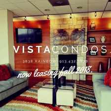 Rental info for Vista Condominiums in the Kansas City area