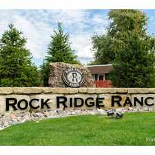 Rental info for Rock Ridge Ranch Apartments