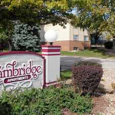 Rental info for Cambridge Apartments in the Omaha area