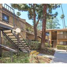 Rental info for Barcelona, Palm Lane and Seville Apartment Homes in the Anaheim area