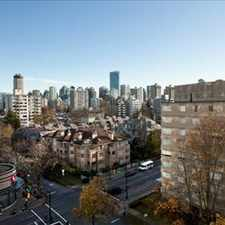Rental info for Davie St and Cardero St: 1225 Cardero St, 0BR in the Vancouver area