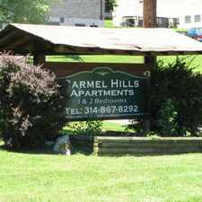Rental info for Carmel Hills in the St. Louis area