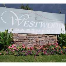 Rental info for Westwood Apartments in the Hampden area