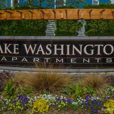 Rental info for Lake Washington Apts.