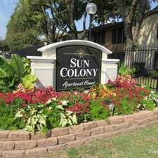 Rental info for Sun Colony