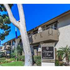 Rental info for Singing Tree Apartment Homes in the West Anaheim area