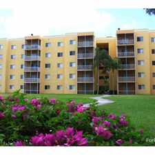 Rental info for New Park Towers in the Pembroke Pines area