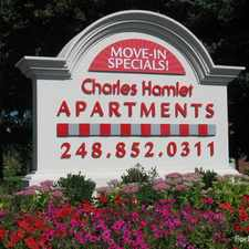 Rental info for Charles Hamlet Apartments