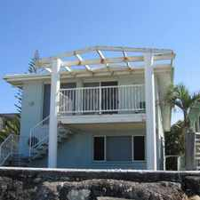 Rental info for Absolute beach front in the Elanora area