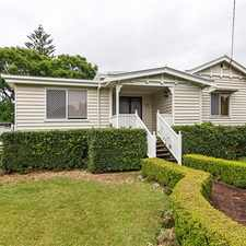 Rental info for Modernised Double Gable with Plenty of Character!! in the Toowoomba area