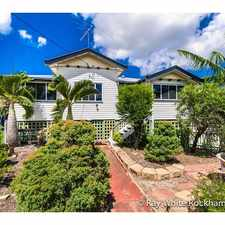 Rental info for FANTASTIC HOME IN THE RANGE! in the West Rockhampton area