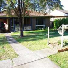 Rental info for Comfortable Family Home in the Bligh Park area