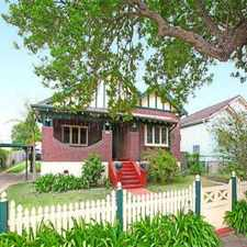 Rental info for HERITAGE STYLE 3 BEDROOM in the Parramatta area