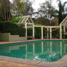 Rental info for SPACIOUS 2 BEDROOM APARTMENT WITH ACCESS TO SWIMMING POOL IN COMPLEX in the Sydney area