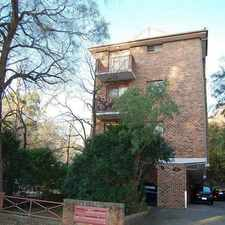 Rental info for GOOD SIZED HOME UNIT WITH LOCK UP GARAGE! in the Parramatta area