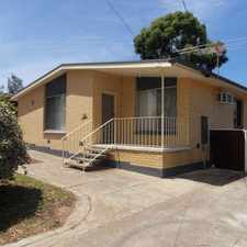 Rental info for Neat 3 Bedroom Family Home! in the Ingle Farm area