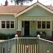 Rental info for COSY COTTAGE HOME AND WALKING DISTANCE TO ALL AMENITIES in the Oakleigh area