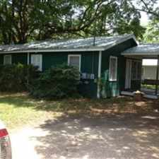 Rental info for 2/1- DIP/ BC RAIN Gaillard elementary, Pillans middle, BC Rain high, Nice house w/large porch and swing, fenced yard w/shade trees, good neighborhood, off street parking, convenient location. in the 36605 area