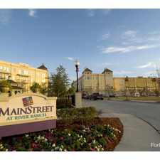 Rental info for Mainstreet at River Ranch/Mainstreet Annex in the Lafayette area