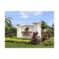 Rental info for Harbour Palms