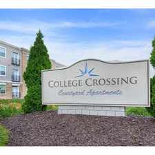 Rental info for Hunter College Crossing in the Indianapolis area