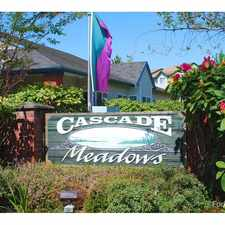 Rental info for Cascade Meadows - No Current Availability -