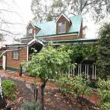 Rental info for **LEASED PENDING LEASE SIGNING***Fairytale Home Among The Gum Trees in the Aberfoyle Park area