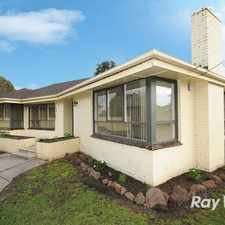 Rental info for So close to parkmore & mowing INCLUDED! in the Melbourne area