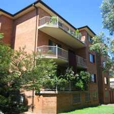 Rental info for TWO BEDROOM UNIT DEPOSIT RECEIVED in the Westmead area