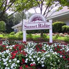 Rental info for Sunset Ridge Apartments in the New Haven area
