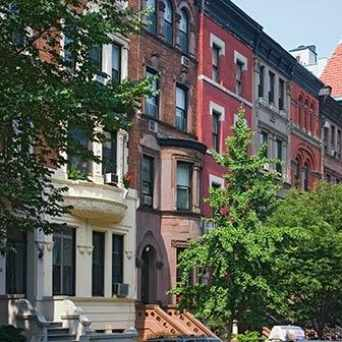 Photo of Morningside Heights in West Harlem, New York