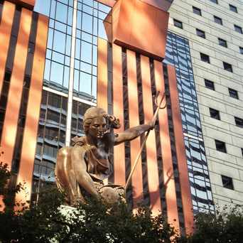 Photo of Portlandia Statue in Downtown, Portland