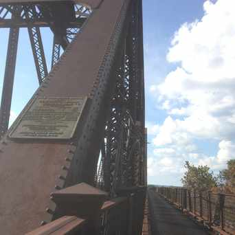 Photo of Kentucky & Indiana Railroad Train Bridge & Crossing in Portland, Louisville-Jefferson