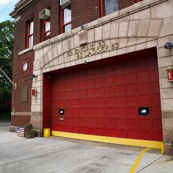 Photo of Engine 163 in Westerleigh, New York