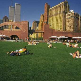 Photo of Robert F Wagner Junior Park in Battery Park City, New York