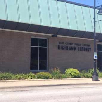 Photo of Lake County Public Library Highland Branch in Highland