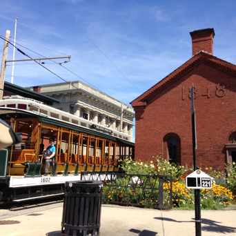 Photo of National Trolley Museum in Downtown, Lowell