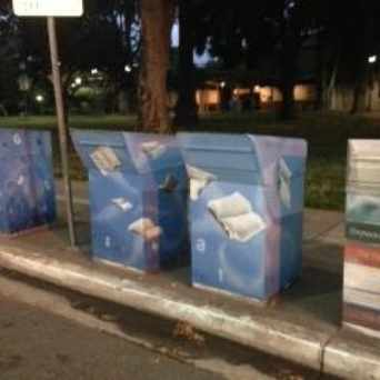 Photo of Cute book return boxes #NorthHayward in Downtown, Hayward