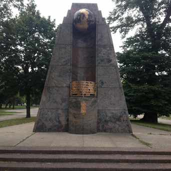 Photo of Captin Stephonas Darius Monument in Marquette Park, Chicago