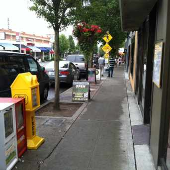 Photo of Sidewalk Shops On California Ave in Genesee, Seattle