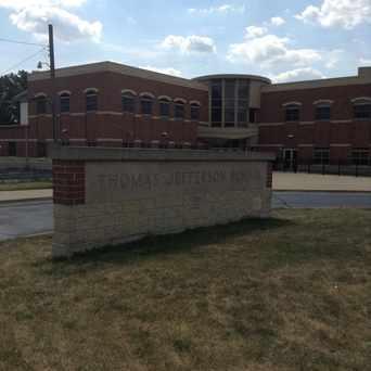 Photo of Thomas Jefferson School, Bellwood Illinois in Bellwood