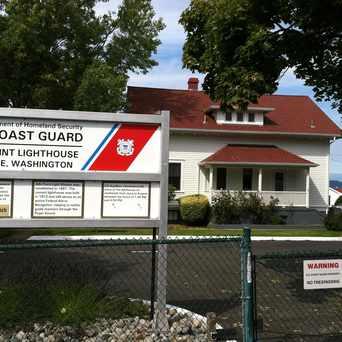 Photo of Coast Guard Lighthouse in Alki, Seattle