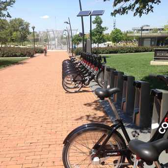 Photo of CoGo Bike Share in Downtown, Columbus